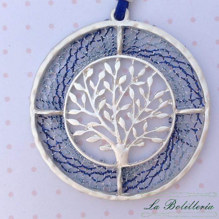 Colgante Árbol de la Vida - Encajes Artesanos - El Arte al alcance de tus manos