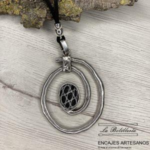 Collar @ Volcanico - Encajes Artesanos - El Arte al alcance de tus manos