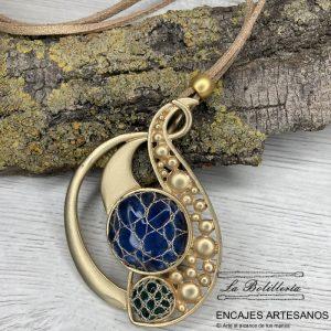 Collar Burbujitas - Encajes Artesanos - El Arte al alcance de tus manos